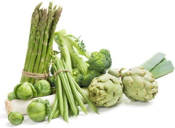 verduras fuente de calcio
